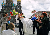 St Petersburg: Married!